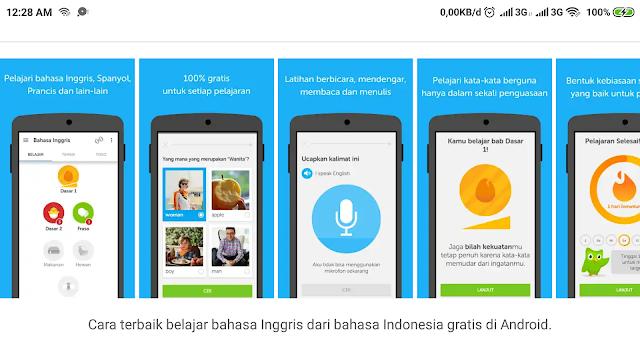 5 Aplikasi Android Untuk Belajar Bahasa Ingrgis dan Bahasa Asing Lainnya