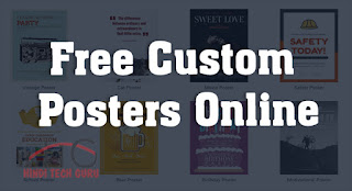 Free Custom Posters Online Kaise Banaye
