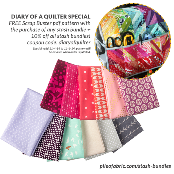 Giveaway From Pile O Fabric Diary Of A Quilter A