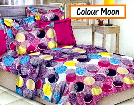 Sprei motif Colour Moon