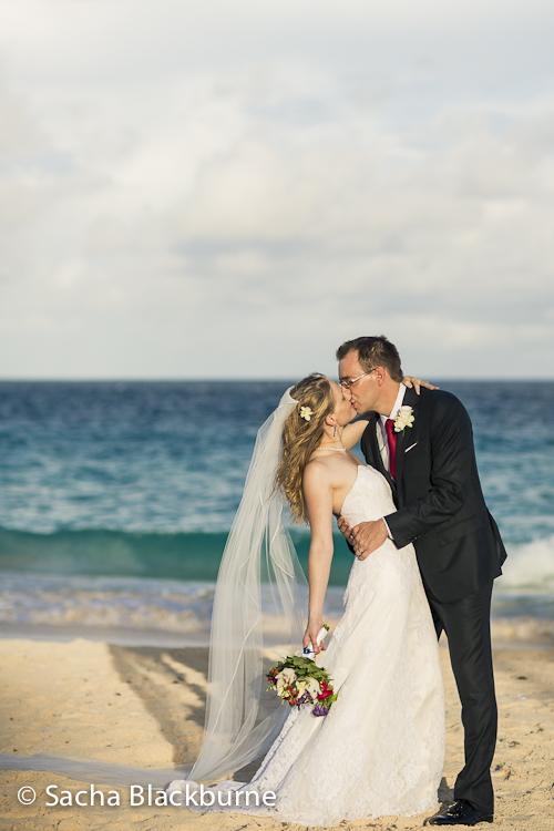 Stephen Leah Elbow Beach Bermuda Wedding