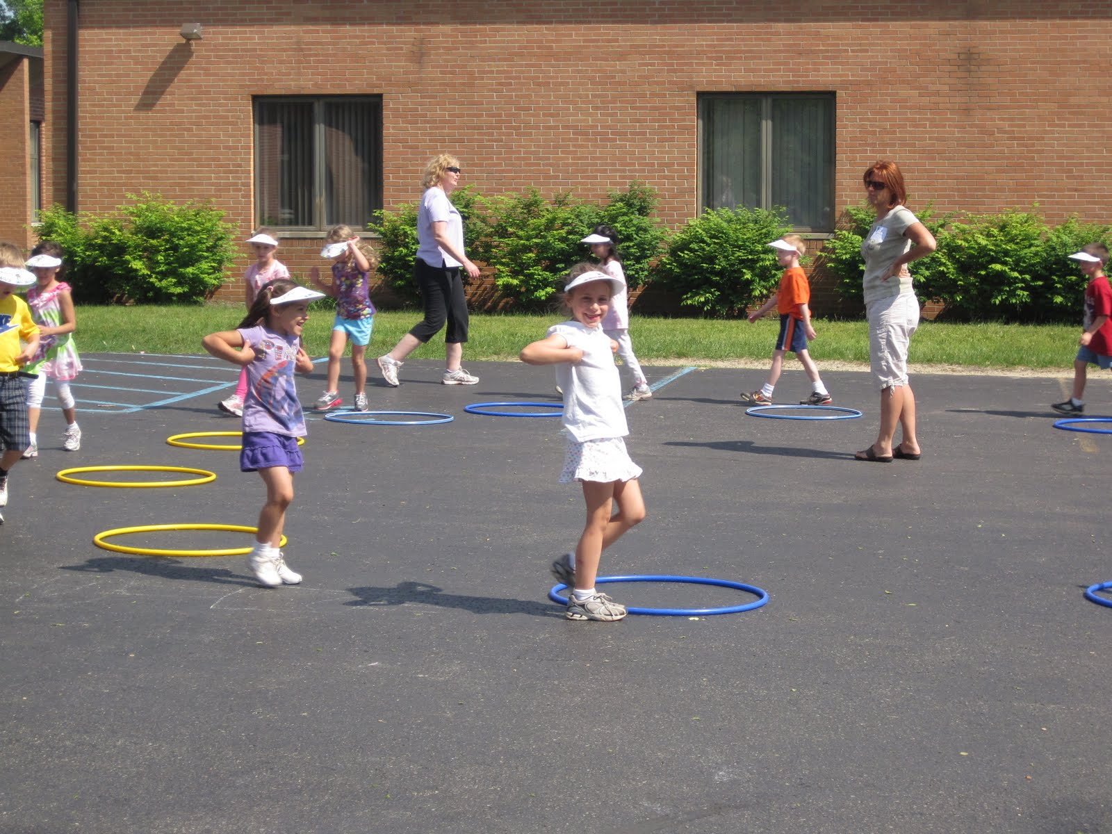 KatieMeganJessica Walkathon and Kinder Kids Olympics