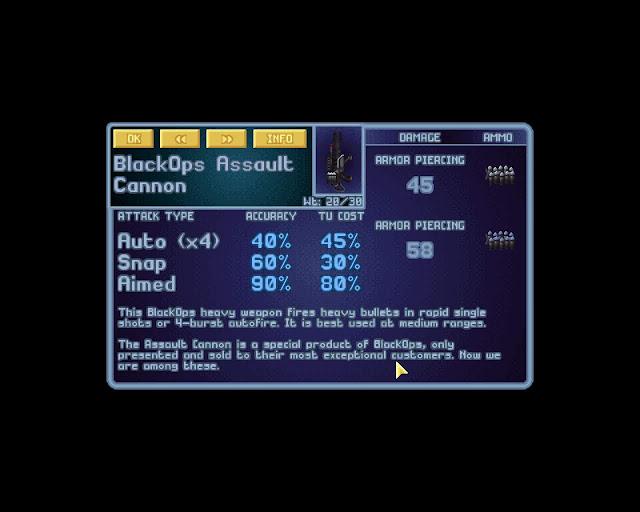 Open X-Com X-Files  BlackOps Assault Cannon