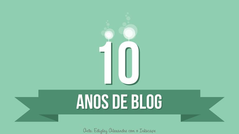 Hoje o blog completa uma década de criação [Dia Nacional da Matemática]