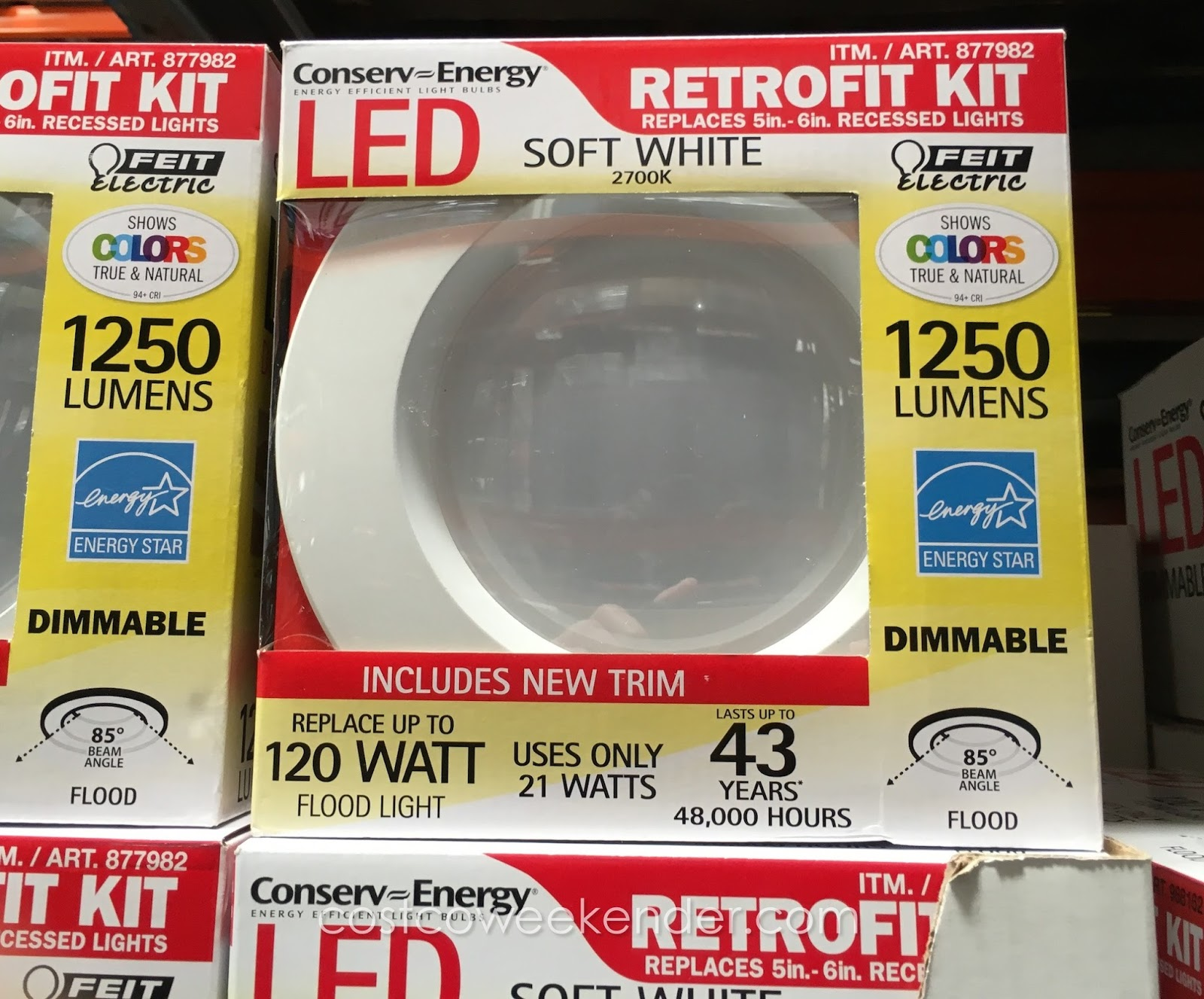 Feit Led Dimmable Retrofit Kit Costco Weekender