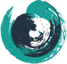 blue and teal swirl--logo for Circle of Security