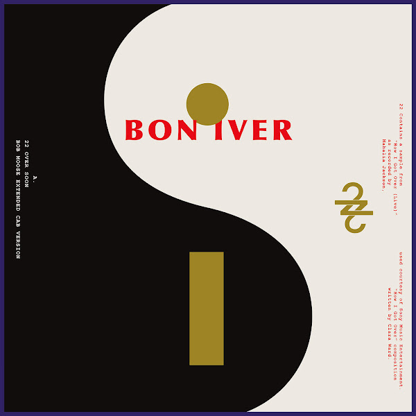 Bon Iver - 22 / 10 - Single Cover