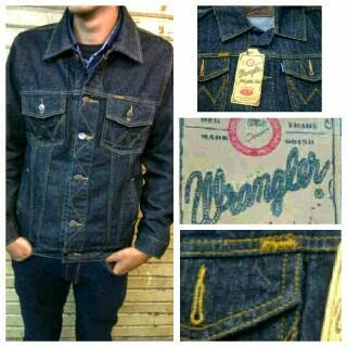Jaket jeans Wrangler murah dan keren