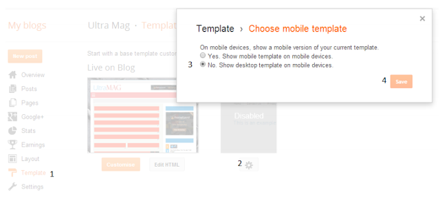 Cara Membuat Mobile Firendly Template