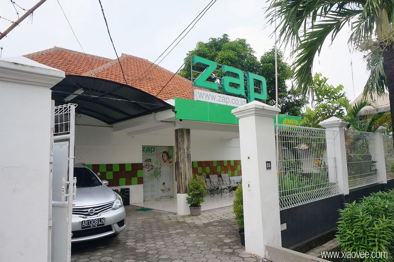 ZAP permanent hair removal, ZAP clinic, ZAP Facial rejuvenation review, ZAP Surabaya