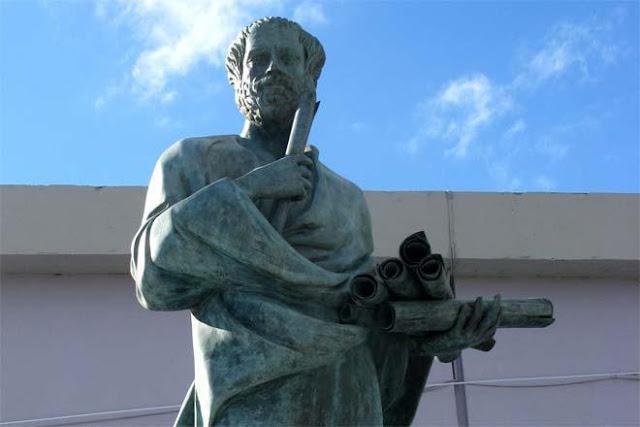 Ο Αριστοτέλης θεωρείται από τις πιο σημαντικές μορφές της φιλοσοφικής σκέψης