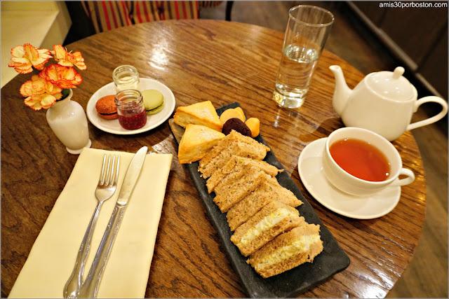 Menú de Té del Bosie Tea Parlor en Nueva York