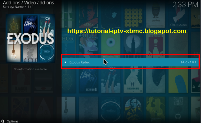 Exodus Redux Addon Kodi Repo Url 18, 17 6 - New Kodi Addons