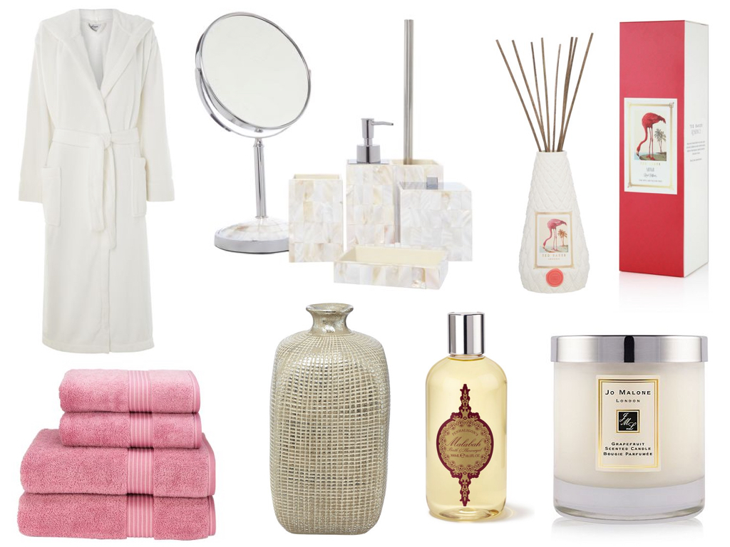 Luxury bathroom accessories wishlist emily may for Bathroom things