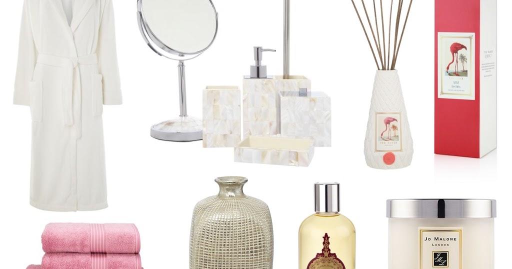 Bathroom Lights House Of Fraser luxury bathroom accessories wishlist! / emily may