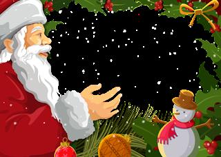 Molduras para fotos natal
