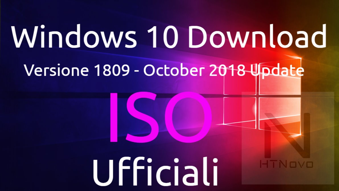 Windows-10-Versione-1809-ISO