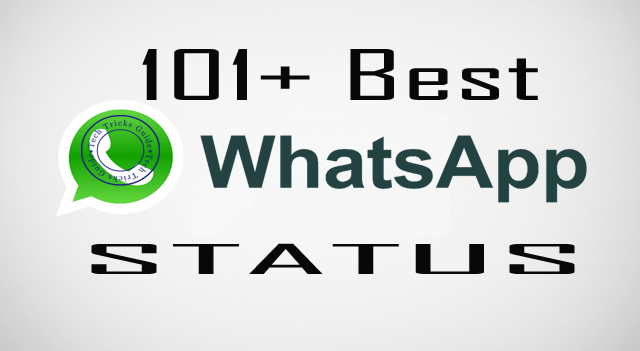{Top*} 101+ Best Whatsapp Status {New*}