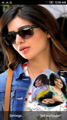 Samantha 3D live Wallpaper For Android Mobile Phone