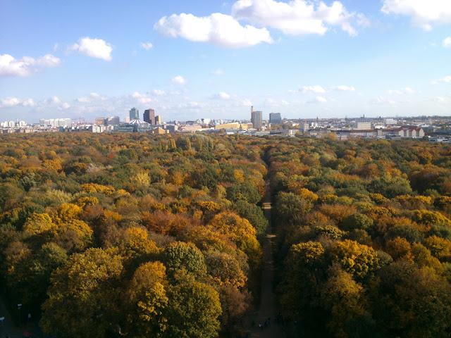 Tiergarten desde Siegessäule
