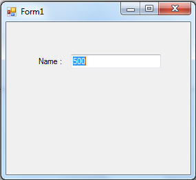 Assigning and using a Integer variable