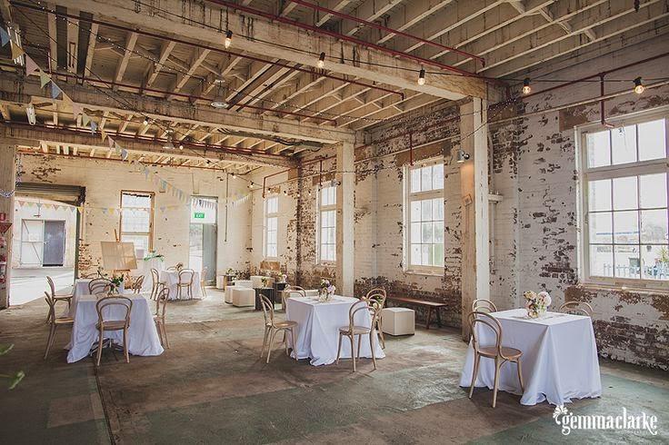 Ashdown Amp Bee Industrial Warehouse Wedding Space