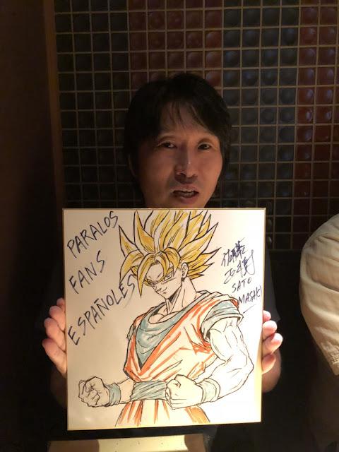 La leyenda de la animación Masaki Satô (Dragon Ball y Dragon Ball Z) invitado al Salón del Manga de Barcelona.