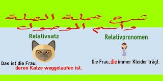 شرح Relativsatz و Relativpronomen