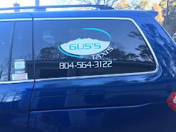 Gus Taxi Services Van