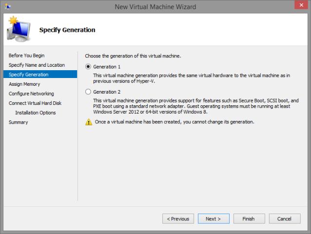 Notes on Hyper-V, Windows 8 1 Pro Upgrade and Fedora 21 Workstation