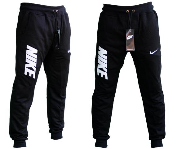 Celana Jogger Panjang Nike Hitam Teks Putih Training Sport