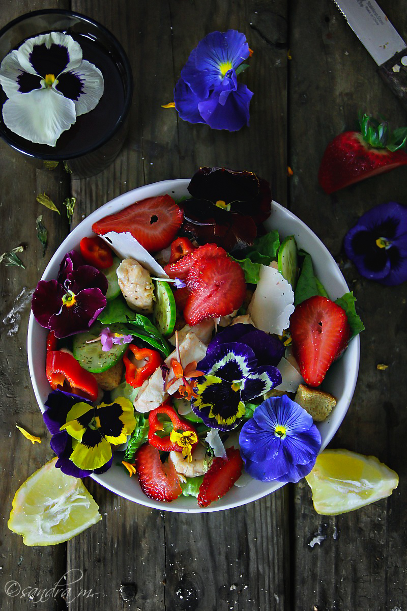 Edible Flowers, Food Photography Challenge