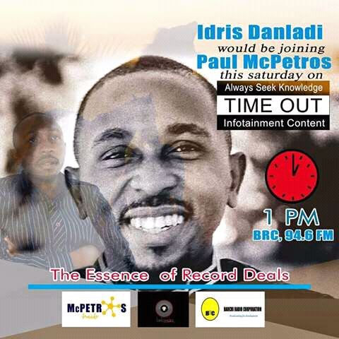 BRC 2 94.5 BAUCHI: TIME OUT WITH PETROS HOSTS  IDRIS DANLADI aka PROWESS
