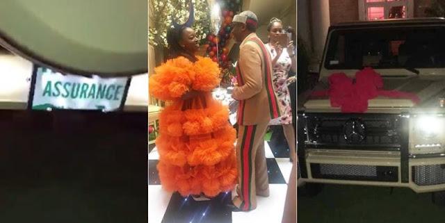 VIDEO: Like Davido, Nigerian lawmaker buys wife G-Wagon with