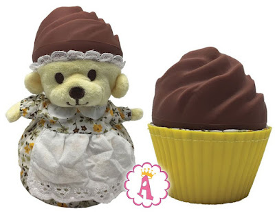 Мягкие игрушки Cupcake Bears серия Ароматные кексе (капкейки)