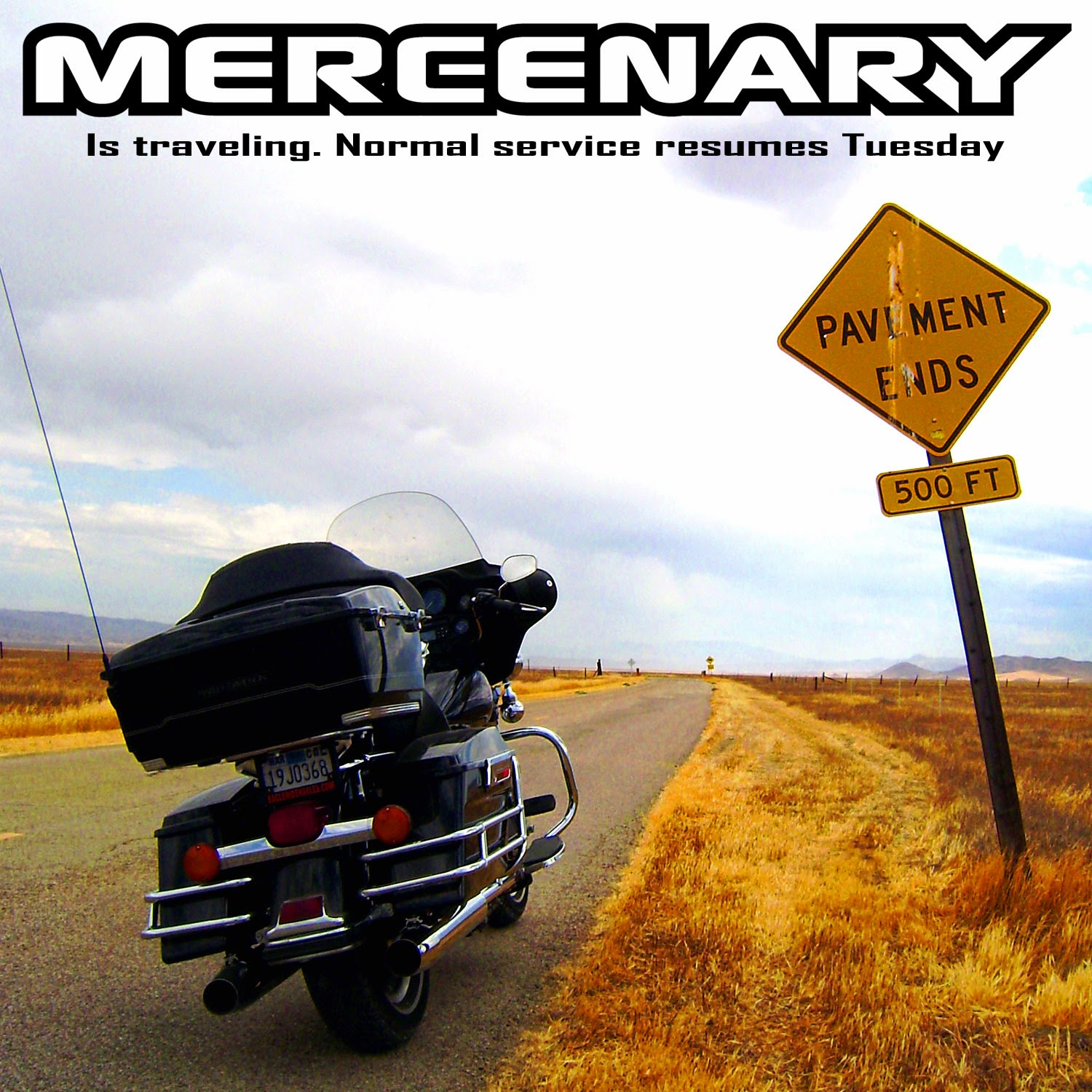 Mercenary Is Traveling