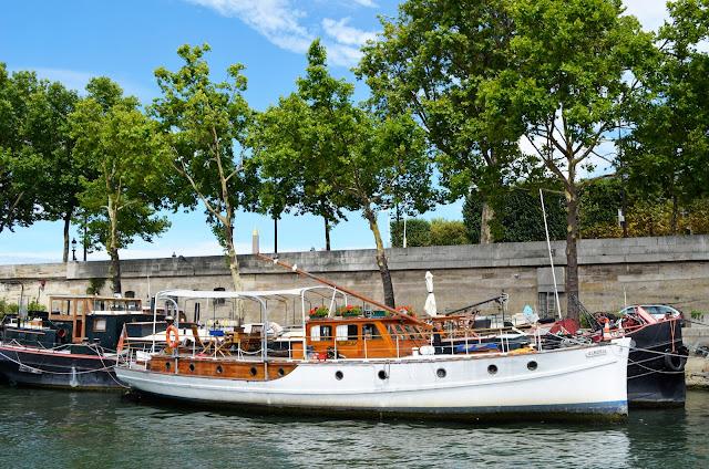 Париж река Сена