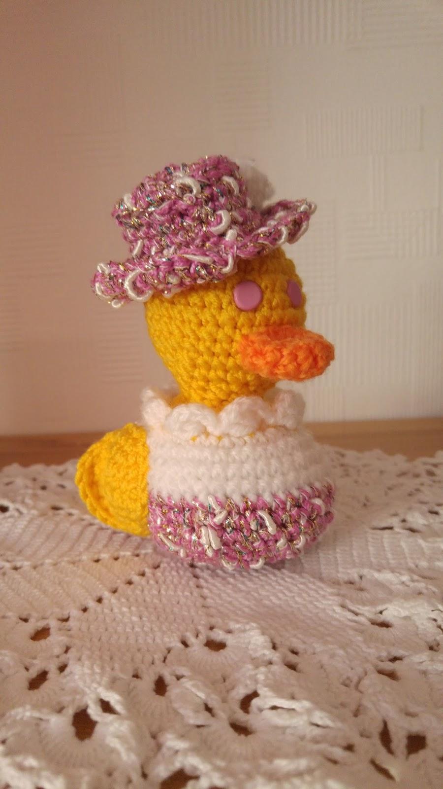 Lillyskleinehandarbeitswelt Kleine Ente Häkeln Kostenlose
