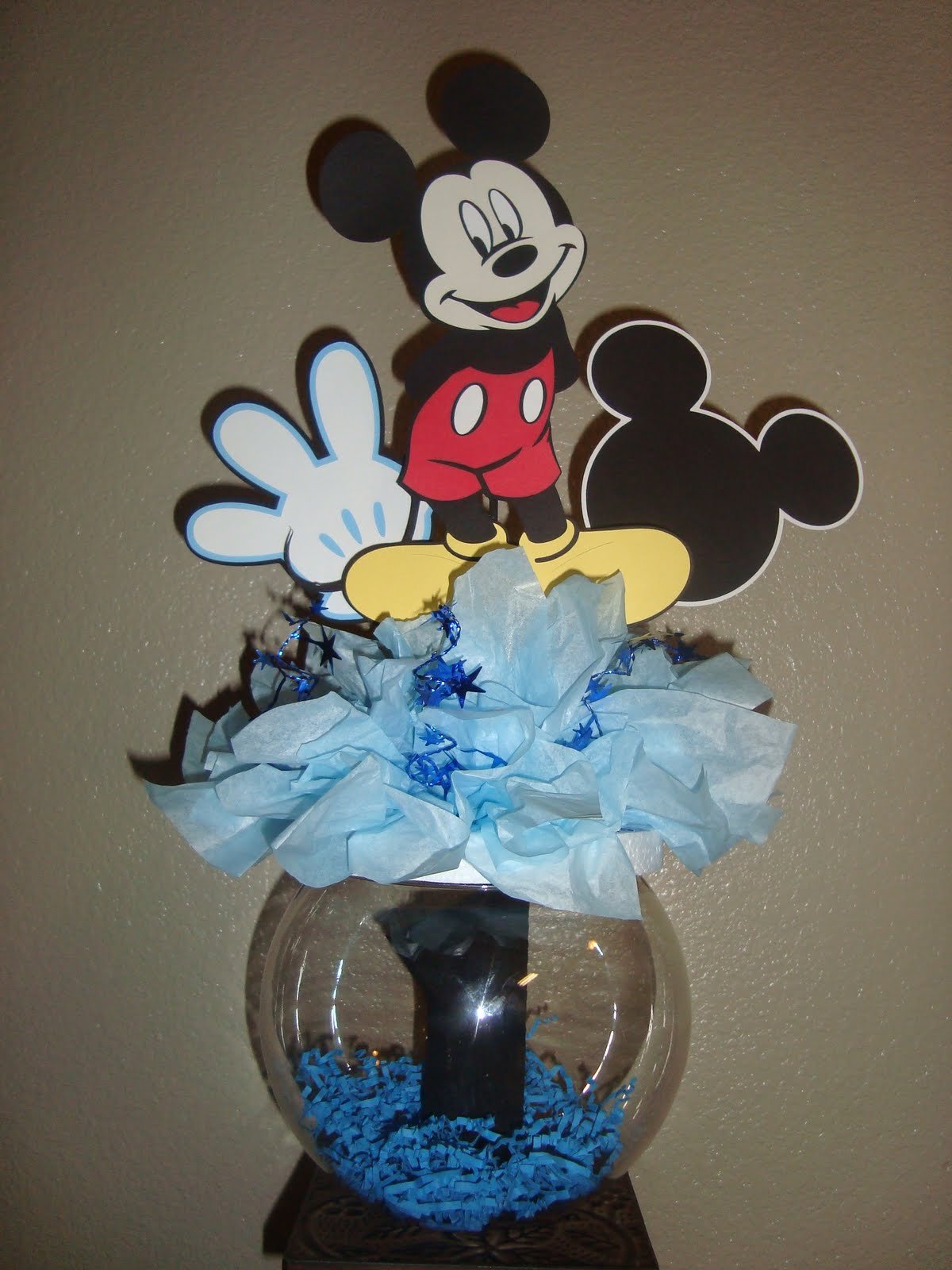 Baby Mickey Mouse St Birthday Cake Topper Centerpiece