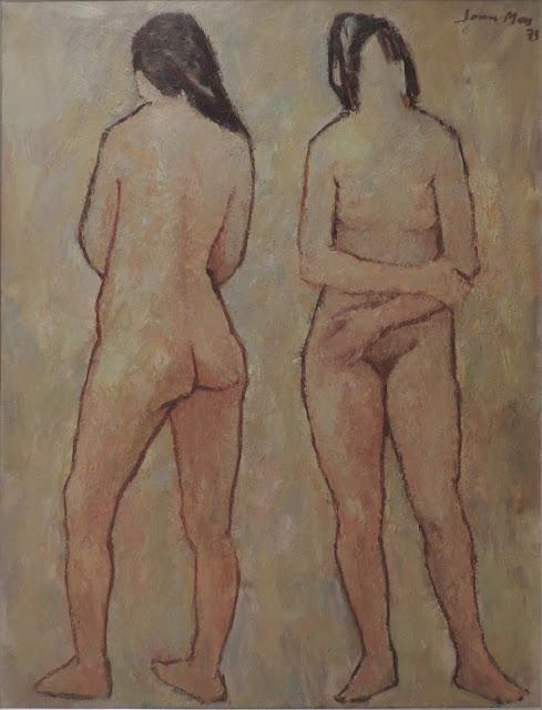 Joan Más arte figura femeninia desnuda