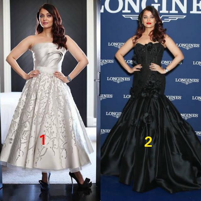 Aishwarya Rai in Black or White