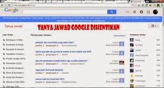 Tampilan Google Tanya Jawab