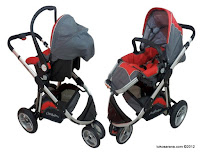 Kereta Bayi Chris and Olins U6658D Vogue Travel System