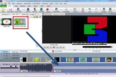 cara edit video dengan menggabungkan 2 video menjadi satu