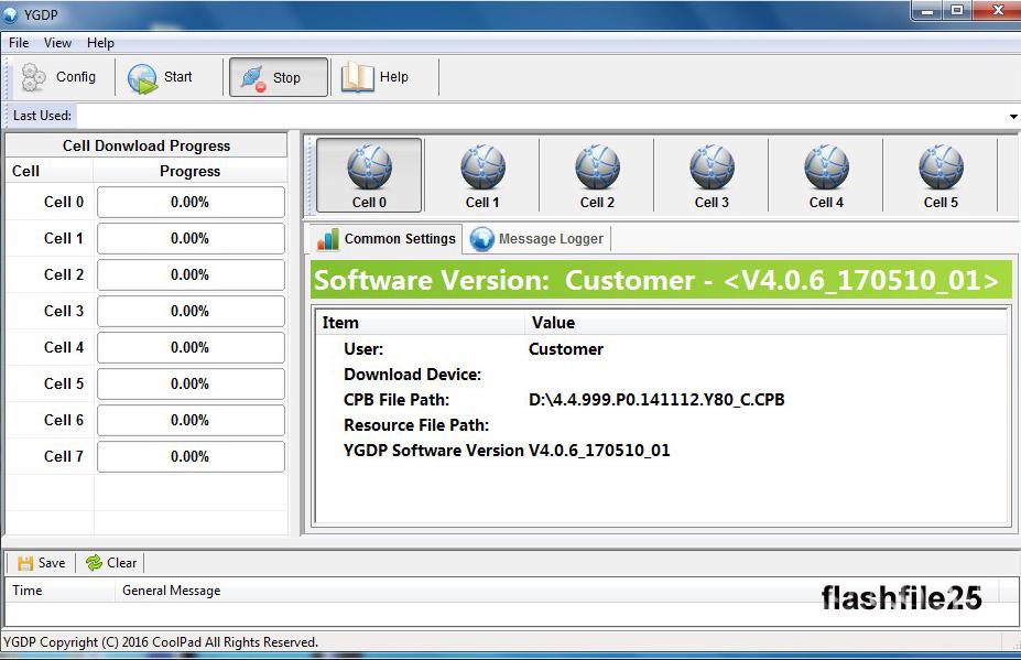 FlashFile25: YGDP Flash Tool Latest Version V4 03