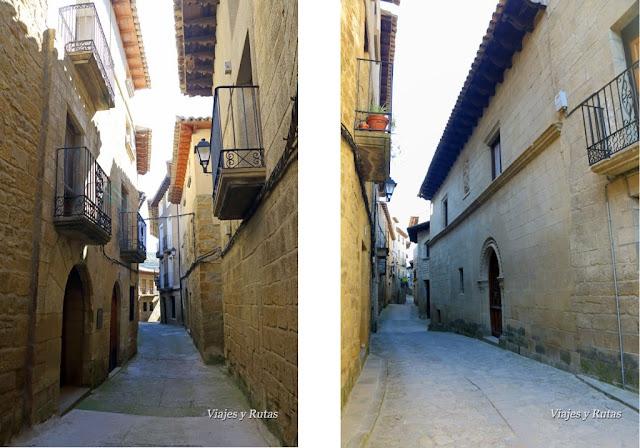 Calles de Uncastillo, Zaragoza