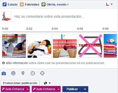 Como crear vídeos de presentación con llamada a la acción en facebook