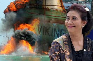 Beuhhh Mantap ... Mentri Kelautan dan Perikanan Susi Pudjiastuti Siap Mengundurkan Diri Jika Investasi Perikanan Natuna Di Buka Untuk Asing - Commando