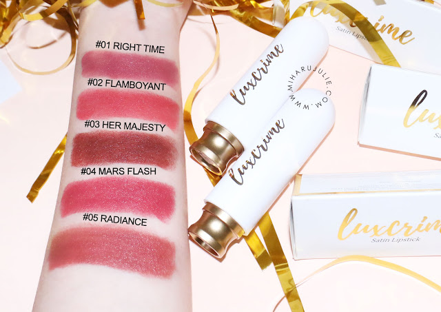 Luxcrime Ultra Satin Lipstick