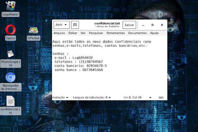 criptografia no linux